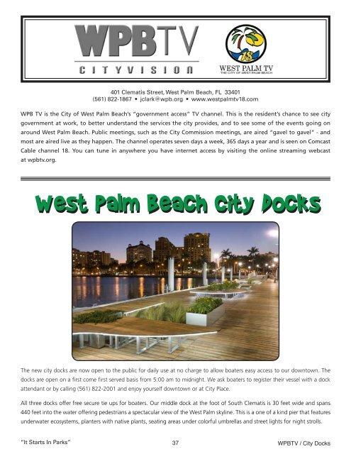2012-20132012-2013 Fall/WinterFall/Winter - City of West Palm Beach
