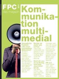 das magazin 2011 - Frankfurter Presse Club