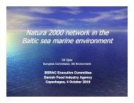 Natura 2000 Presentation - Baltic Sea RAC
