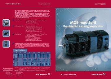 MGE moottorit esite.pdf (765.40 KB) - Suomen Pikaliitin Oy