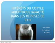 Intérêt du cotyle multi trous dans les reprises des ... - ClubOrtho.fr