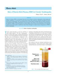 Role of Platelet-Rich Plasma (PRP) in Chronic ... - IJPMR