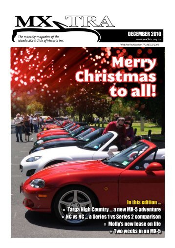 December - Mazda MX-5 Club of Victoria & Tasmania