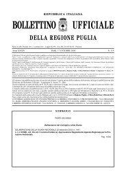 Deliberazione della Giunta Regionale N. 1441, 26 ... - ARPA Puglia