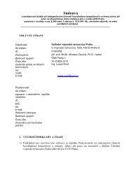 BOZP smlouva.pdf - Ústřední vojenská nemocnice