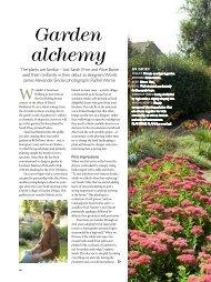 Garden alchemy - James Alexander-Sinclair