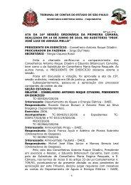 16ª S.O. 1ª CÂMARA DE 14-06-2010 DOE 23-06-2010 FLS. 65-68