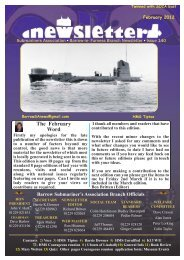 February 12 - Barrow Submariners Association