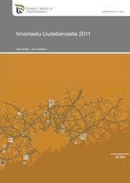 Ilmanlaatu Uudellamaalla 2011 - Doria