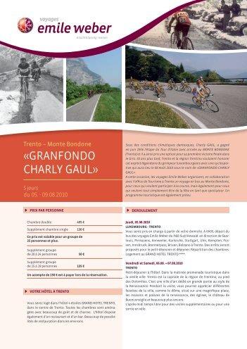 Voyage en Autocar vers la Gran Fondo Charly Gaul ... - ACC-Contern