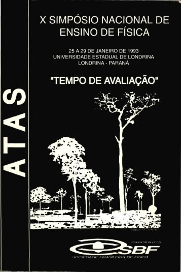 X SIMPOSIO NACIONAL DE ENSINO DE FISICA - Axpfep1.if.usp.br