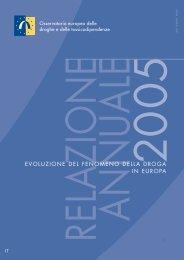 evoluzione del fenomeno della droga in europa - EMCDDA - Europa