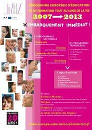 Comenius - Agence Europe-Education-Formation France