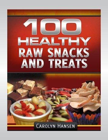 100-Healthy-Raw-Snacks-And-Treats