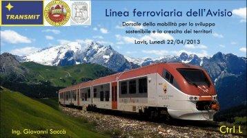 Linea ferroviaria dell'Avisio - L'Adige