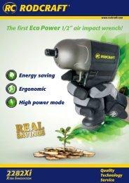 Product Sheet - RODCRAFT Pneumatic Tools