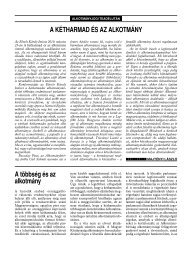 Alkotmányjogi Teadélután - BUKSZ