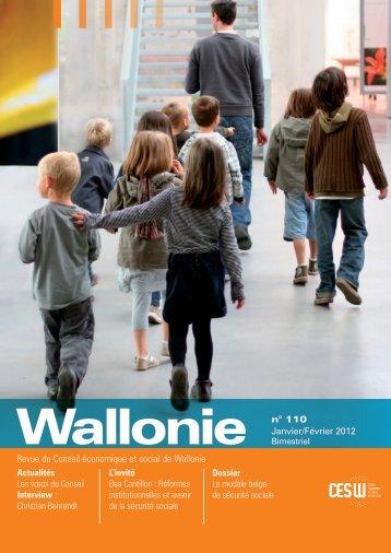 Revue du Conseil économique et social de Wallonie