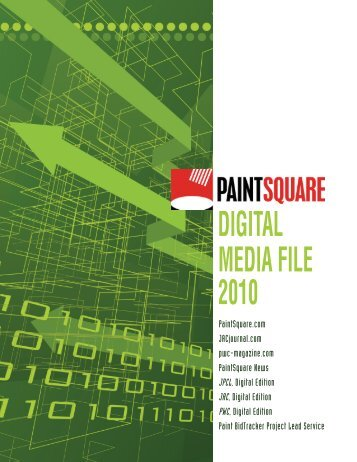 DIGITAL MEDIA FILE 2010 - PaintSquare