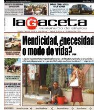 ESCRIBEN LOS NÚMEROS DE LA MENDICIDAD - SEMANARIO ...