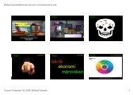 Microsoft PowerPoint - gatarski_Bildning20_2009 ... - Richard Gatarski