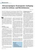Abwasserpumpen: Konsequente Auslegung senkt ... - Grundfos - Seite 2
