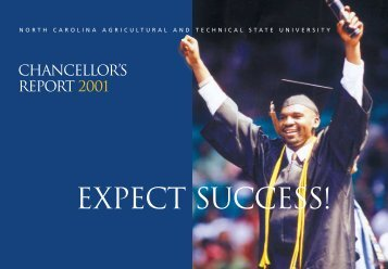 expect success! - North Carolina A&T State University