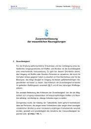 Waffengesetz Neuregelungen - Allgemeine Schützengesellschaft ...