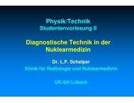III. Physik/Technik - Klinik für Strahlentherapie