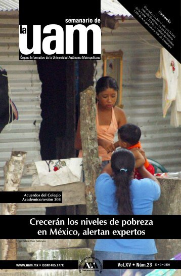Crecerán los niveles de pobreza en México, alertan expertos - UAM ...