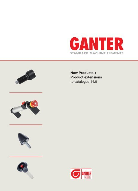 New Products 2009 Ganter Griff
