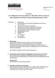 Protokoll 2008 - Berner Division