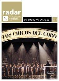 Radar, diciembre 2007/enero 2008 - Ayuntamiento de Huesca