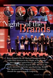 Night of the Brands - TNS Infratest