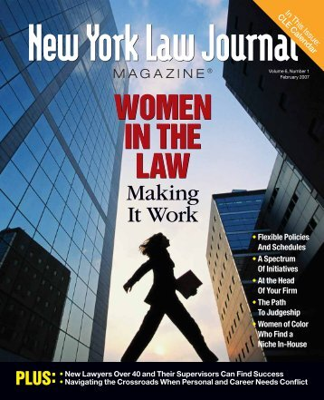 New York Law Journal - Corporate Counsel Women of Color