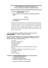 contenidos evaluables para la 2ª evaluación. de enero ... - aulAragon
