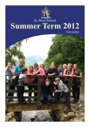 Summer Term 2012 - St Bees School