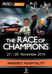 The Race of Champions 2010 - GM Consult IT GmbH