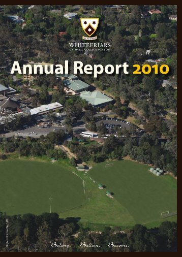 2010 Annual Report - Whitefriars