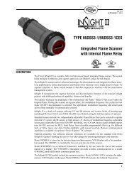 TYPE 95DSS3-1/95DSS3-1CEX Integrated Flame Scanner ... - Vorah