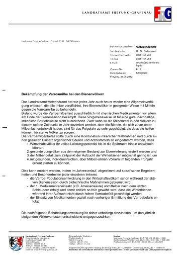 LRA-Briefbogen - Wolfstein - Landkreis Freyung-Grafenau