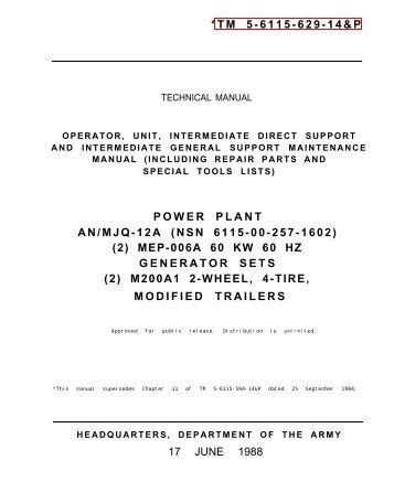 tm 9 6115 464 12 igor chudov rh yumpu com Technical Maintenance Manual Water Operations Manual