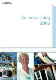Årsredovisning 2005 - Landstinget Västernorrland