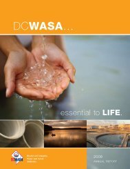 2008 Annual Report - DC Water