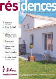 Résidences n°1.pdf - Vendée Habitat