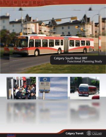 Functional Planning Study - Calgary Transit