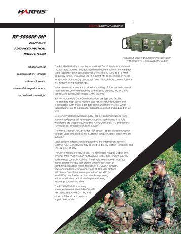 Harris rf 5800h mp Manual