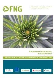 Report 2013 - Forum Nachhaltige Geldanlagen eV
