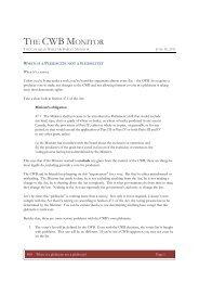 June 30, 2011, Issue #69 - When is a plebiscite not a plebiscite