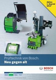 Rückkaufprämie - Bosch - Werkstattportal
